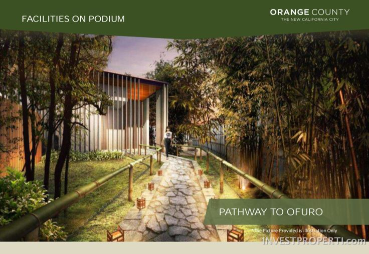 Orange County Cikarang apartment facilities.