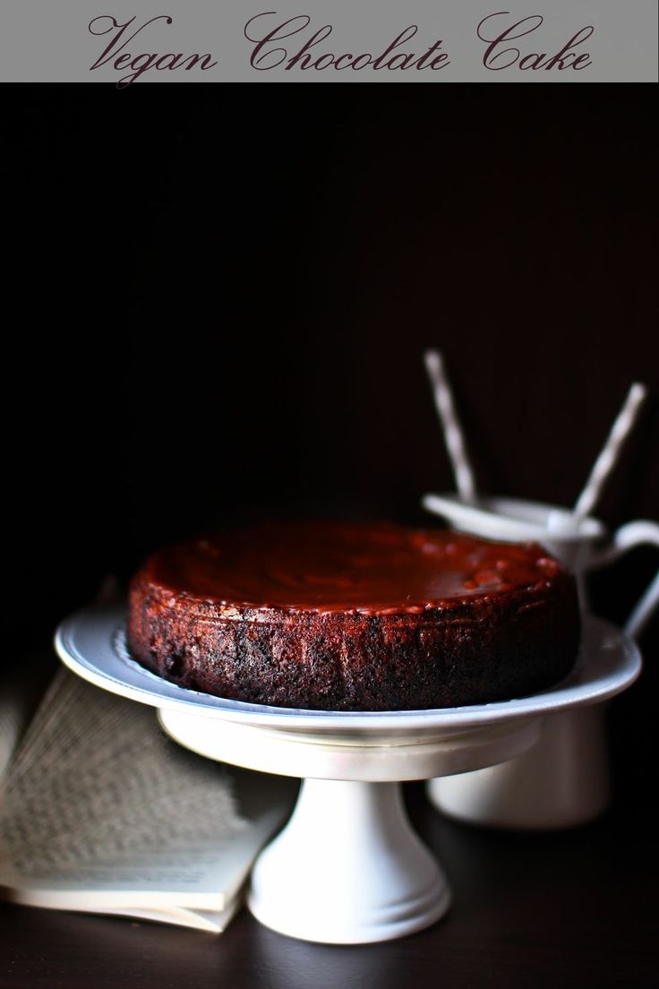 Vegan Chocolate Cake Recipe @ Not Quite Nigella