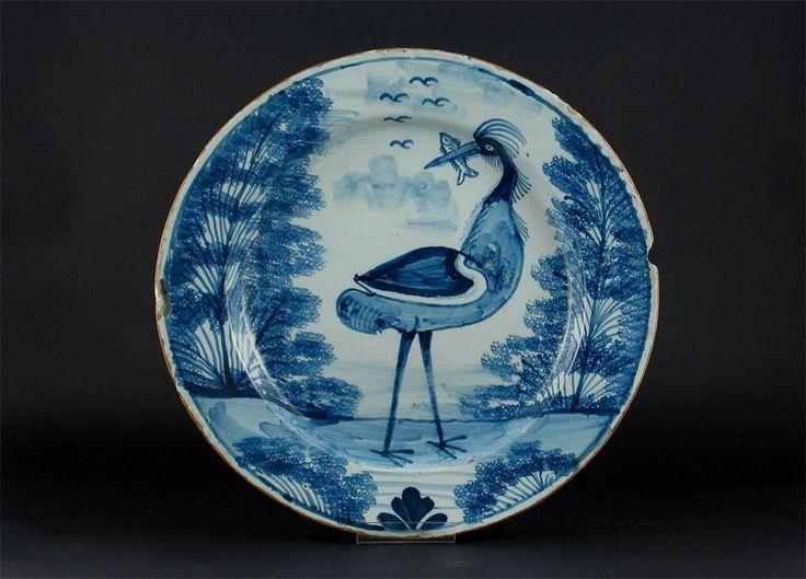 A rare Lambeth Delftware charger - Lot 192 - European Ceramics