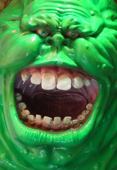 Life Size Ghostbusters Slimer 3D Wall Art Scale 1:1 Prop