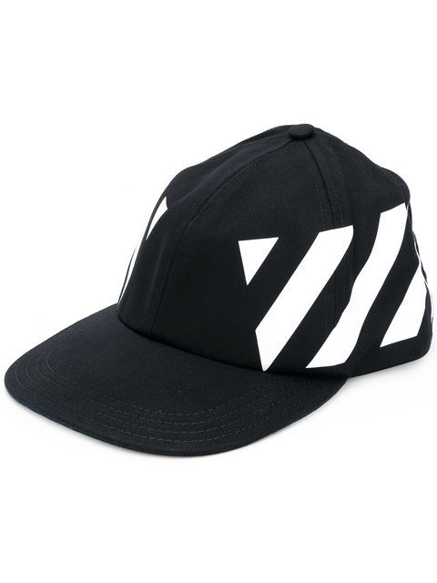 1a59fe5699027b OFF-WHITE diagonal stripes printed cap. #off-white # | Off-White ...