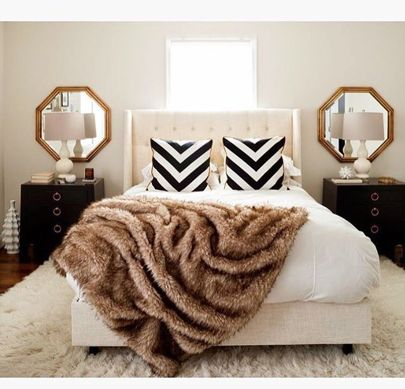 One of our most pinned bedroom designs! You can now shop this look with @liketoknow.it Simply like the photo and sign up at http://liketk.it/2pF6a and you will be emailed the same and/or similar products to recreate this look   Happy shopping ! #liketkit