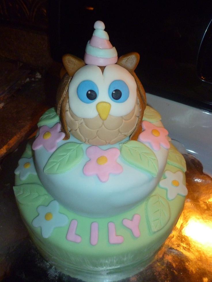 Baby Lily's 1st Birthday Cake!