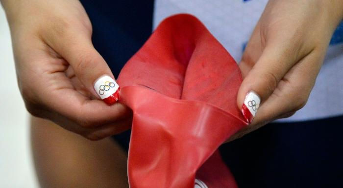 Olympians Go All-Out With Nail Art