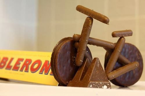 bitchin' Toblerone bike rack
