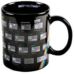 Sinclair ZX Spectrum Keyboard Mug