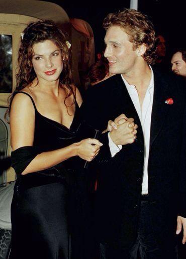 1996 - 1998. Sandra Bullock and Matthew McConaughey