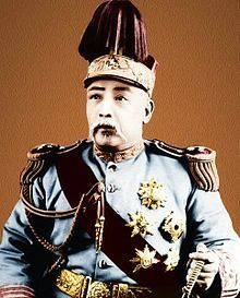 Yuan Shikai was a Chinese general & politician famous for his influence during the late Qing Dynasty, his role in the events leading up to the abdication of the last Qing Emperor, his autocratic rule as the first formal President of the Republic of China, & his short-lived attempt to restore monarchy in China, with himself as the Hongxian Emperor. In 1909 Yuan Shikai was relieved of all his posts by the regent, Prince Chun, but retained army support during 3 years of exile.