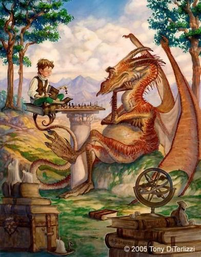 Tony Diterlizzi one of my favorite fantasy artist... also one of my favorite pics