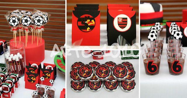 Decoração para Festa Infantil Flamengo