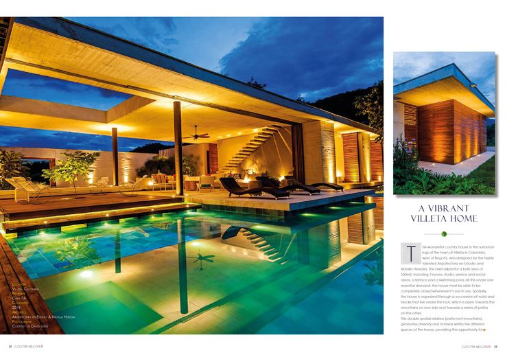 Villeta, Colombia. Cocotraie Issue 12 Special Modern Designs.