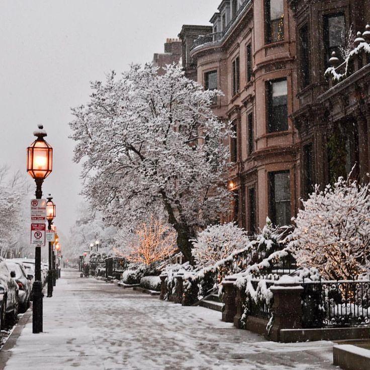 красивые картинки зима снег город нем приняли