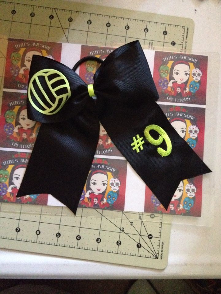 The 25+ best Volleyball hair bows ideas on Pinterest ...