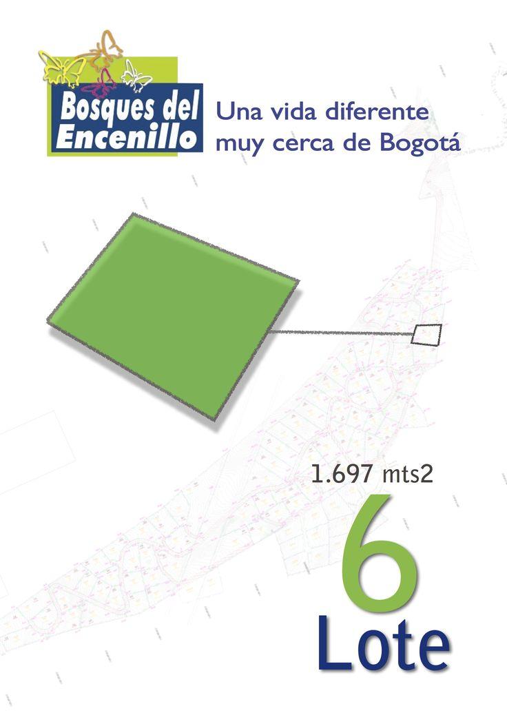 Lote 6 http://www.bosquesdelencenillo.com #ventaloteslacalera