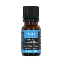 Life's trials and hardships can often steal our peace and cause stress in our body. Stay calm with this blend of pure essential oils known for their ability to soothe and relax.Packaged in a dark ambe