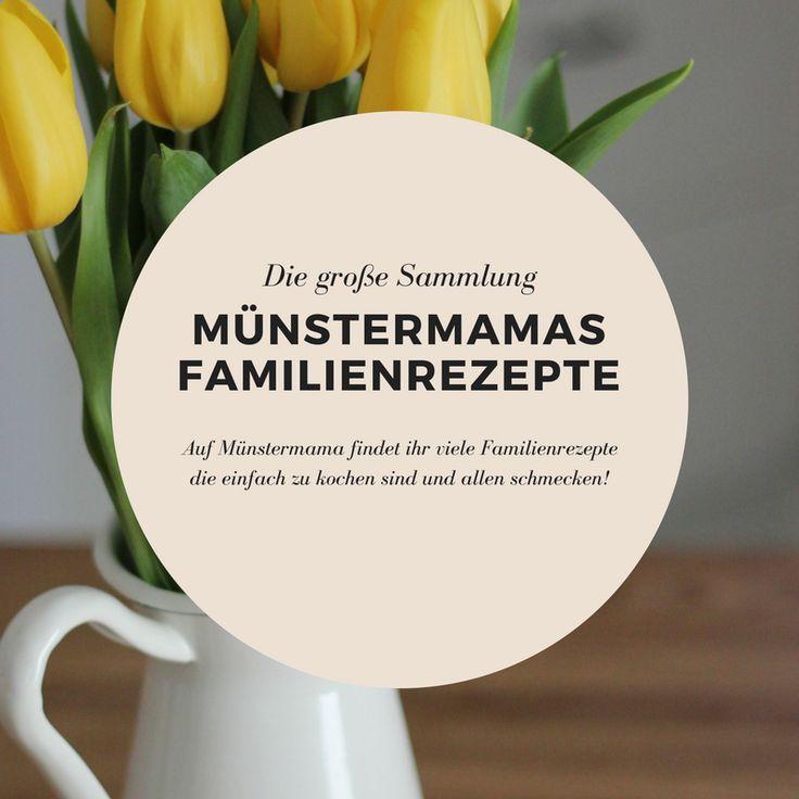 Auf Münstermama finden Familien Rezepte die schnell und einfach gekocht werden und allen Familienmitgliedern schmecken! Familienessen muss Spaß machen!