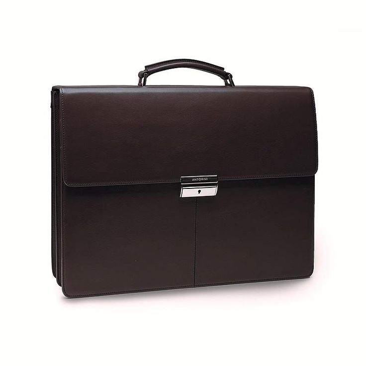 Photo of Leather Briefcase in Brown