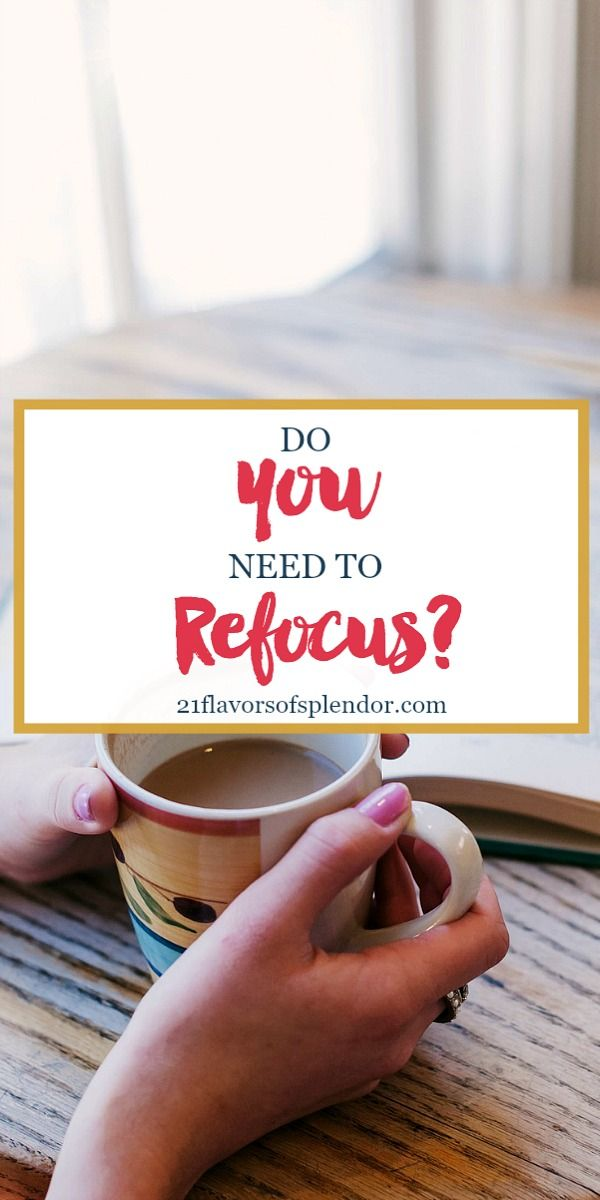 Spring cleaning should not be just about getting rid of things and change. We should also take this time to refocus on different things in our lives. Click... #focus #growth #encouragement #springclean