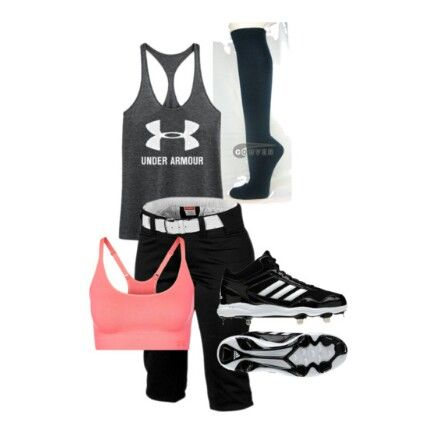 The perfect softball practice outfit