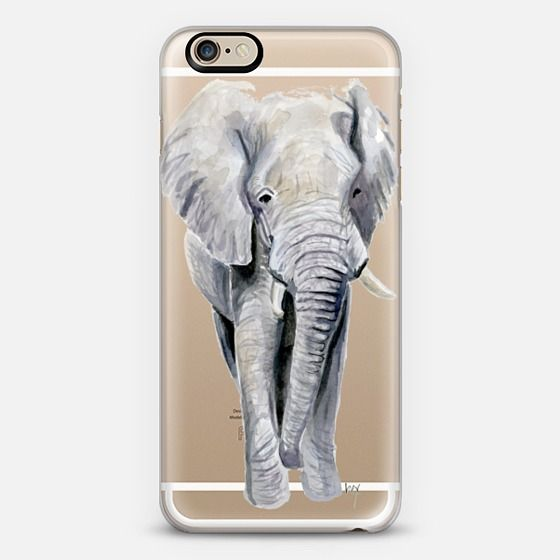 Elephant iPhone 6 case by rebecca hinson art | Casetify