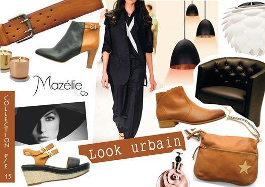 Un look urbain avec les chaussures et accessoires Mazélie & Co !