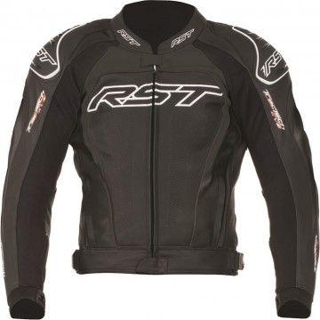 Kurtka RST TRACTECH EVO II black męska   RST TRACTECH EVO II Leather Jacket Man #Motomoda24