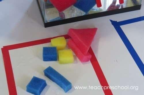 Sponge Block Water Play Puzzles