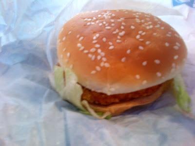 Crispy Chicken, Burger King