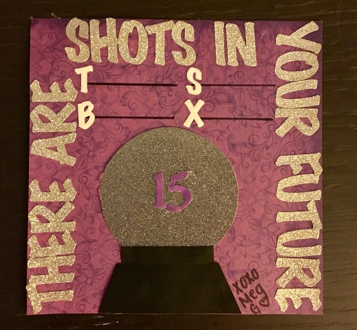 Fortune teller shot book page #shotbookpage