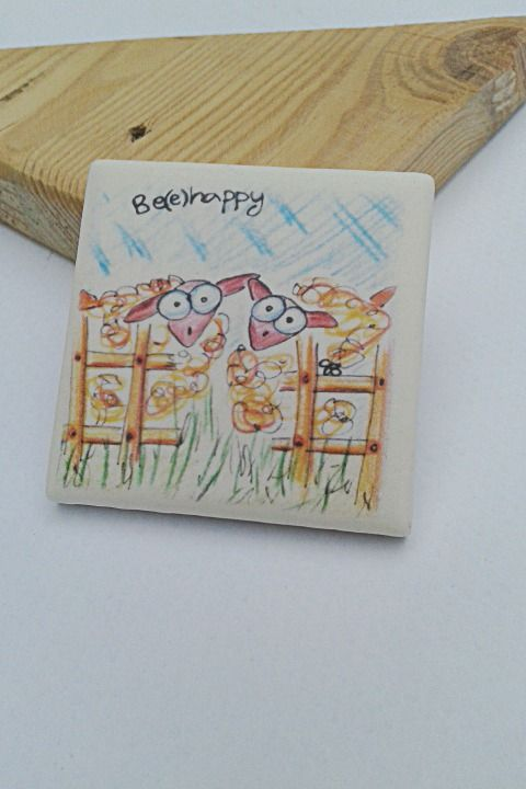 """calamita """"be(e)happy"""" pecorelle : Accessori casa di barbara-santi"""