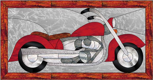 17 best images about stained glass motorcycles on