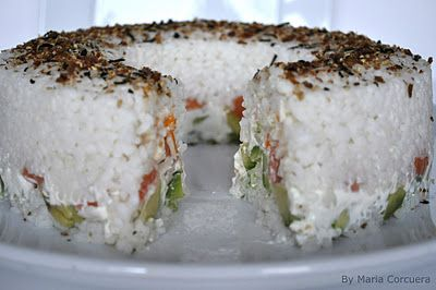 the boyfriend would die and go to heaven Sweet Fix: Sushi Cake