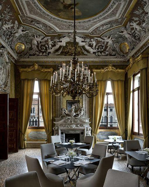 Cool Chic Style Fashion: Viaggio in Italia | Palazzo Papadopoli, Venezia Italy | Aman luxury Hotel