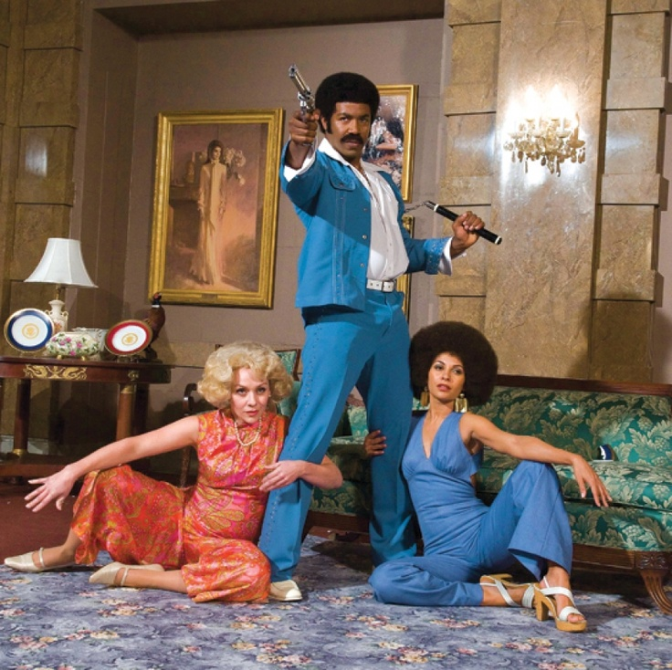 loved the blaxploitation parody black dynamite gender in the original genre was awful and therefore fascinating - Black Dynamite Halloween Costume