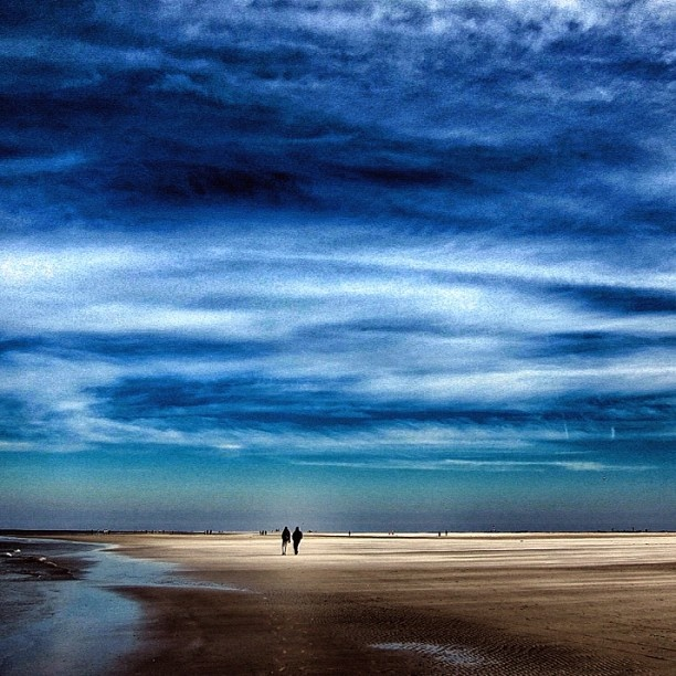 North Sea, Sankt Peter Ording.
