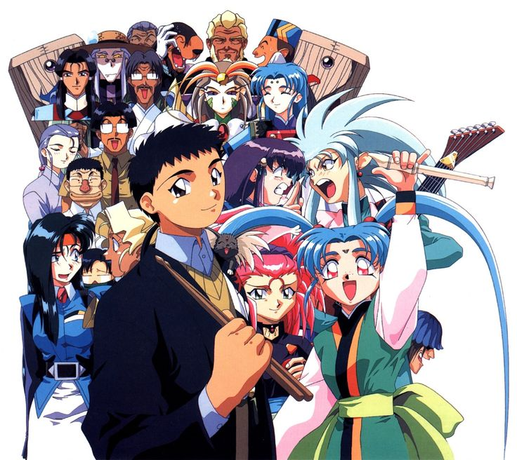 Image result for Kami Tenchi pinterest