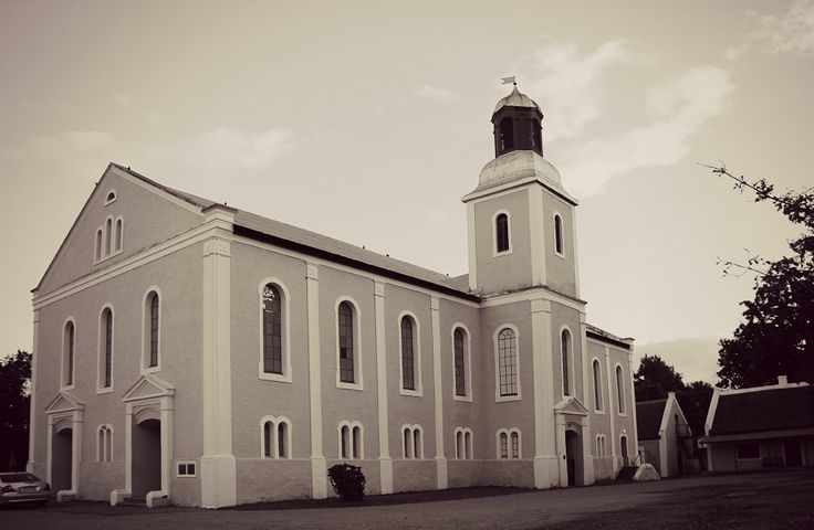 Genadendal Moravian Church - just outside Greyton,  Overberg - Western Cape - South Africa