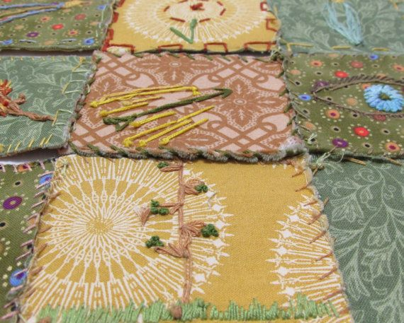 Arte textil de símbolos místicos libro libro artista
