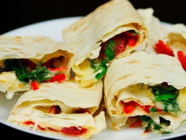 Закуска из лаваша: вкусно и быстро