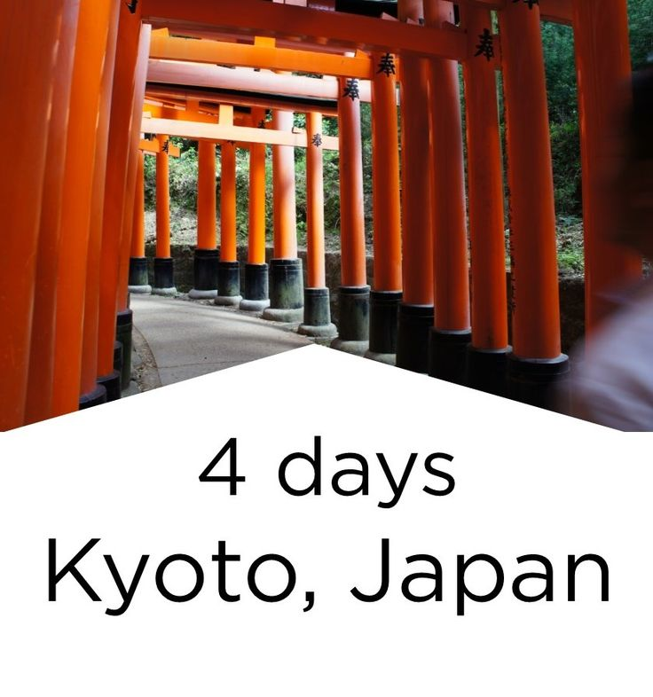 Highlights of a 4 days trip to Kyoto, Japan.
