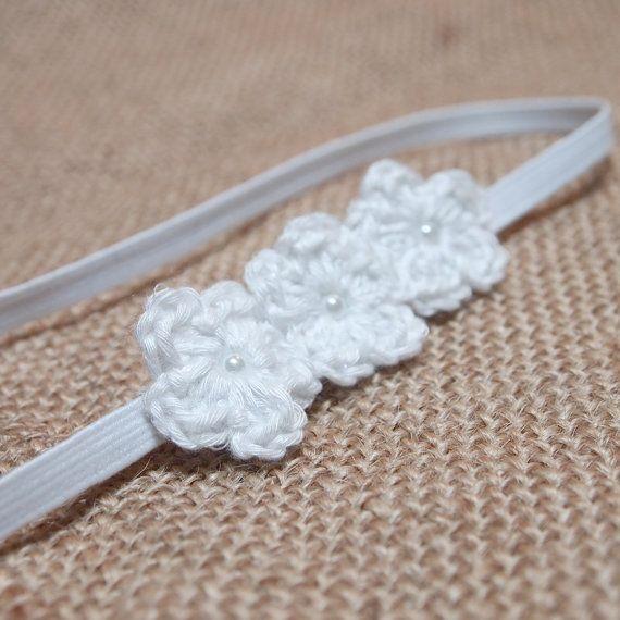 Hey, I found this really awesome Etsy listing at https://www.etsy.com/listing/123688819/crochet-baby-headband-newborn-headband