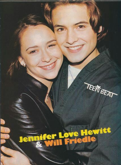 Boy Meets World's Will Friedle and Jennifer Love Hewitt dated in the mid-90s.