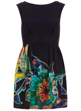 Multi V Back Scuba Dress - View All Dresses - Dresses