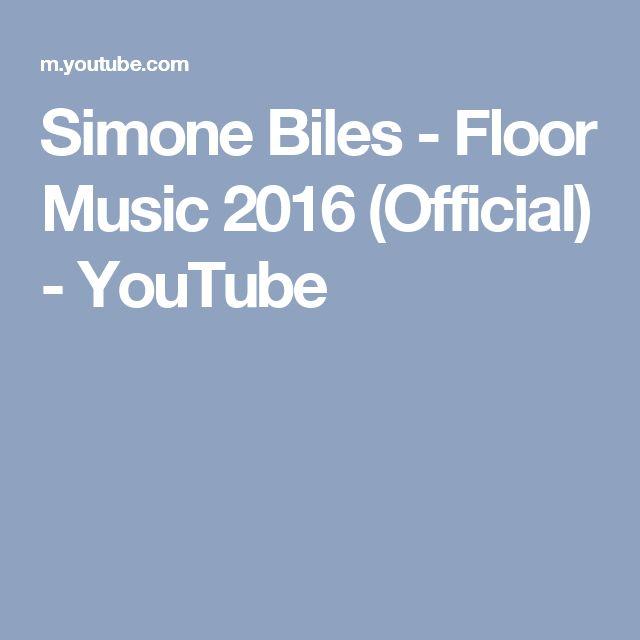 Simone Biles - Floor Music 2016 (Official) - YouTube