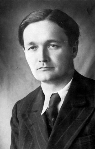 Németh László arcképe Bérci Géza fotóalbumából (1939-1943