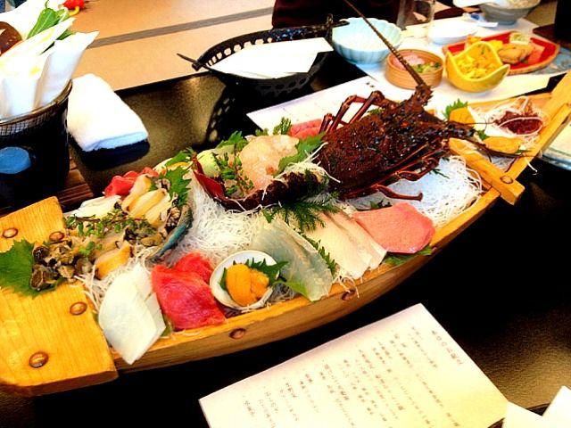 レシピとお料理がひらめくSnapDish - 11件のもぐもぐ - 舟盛り@屋形船 by chan mitsu