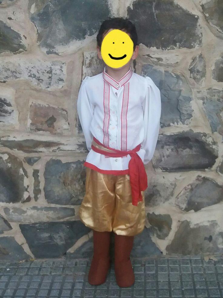 Disfraz de baile ruso