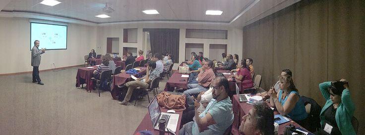 Dr. Víctor Germán Sánchez, Taller: Educación mediada por TIC desde la complejidad, miércoles 24 de junio de 2015, 10:15 a 13:45 hrs. Sala 12 de la Expo Guadalajara. Encuentro Internacional Virtual Educa México 2015.
