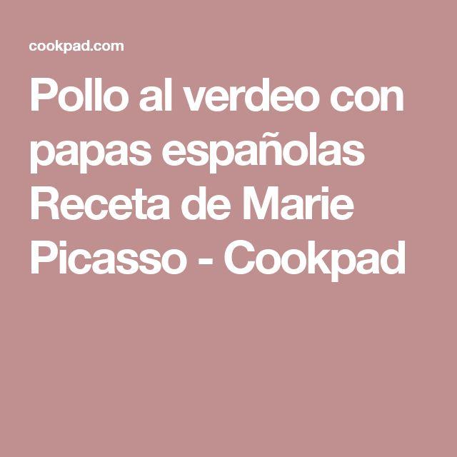 Pollo al verdeo con papas españolas Receta de Marie Picasso - Cookpad
