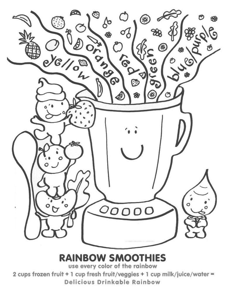 Cute Foods Coloring Pages Delicious Food Coloring Pages ...